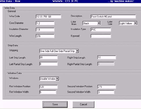 Wire Win : Software for Wire Cutting Machines